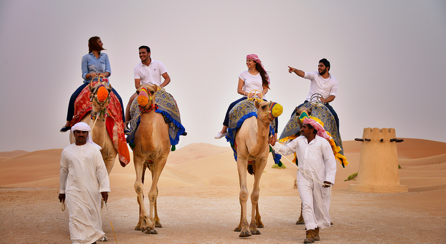 Arabian Nights Camel Trekking